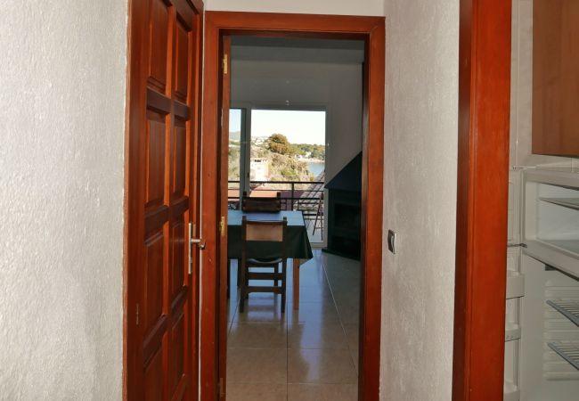 Apartamento en Llança - Apartamento con aire acondicionado a100 mde la playa