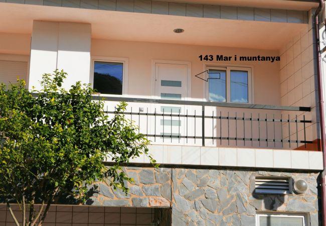 Apartamento en Llança - Apartamento de 1 dormitorios a100 mde la playa