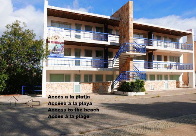 Apartamento en Llança - Apartamento con aparcamiento a100 mde la playa