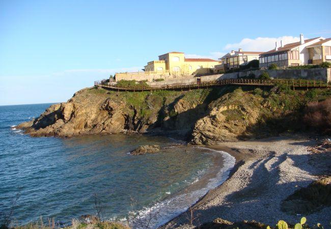 Apartamento en Llança - Apartamento de 2 dormitorios a100 mde la playa
