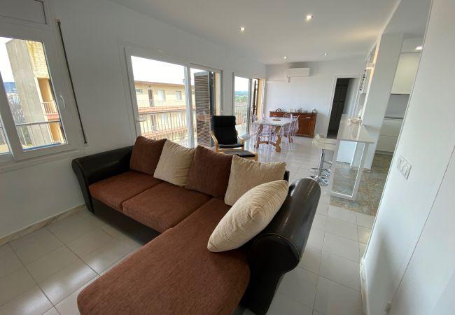 Apartamento en Torroella de Montgri - Mare Nostrum 3D 541 - Vistas a la playa, Wi-Fi, Aire