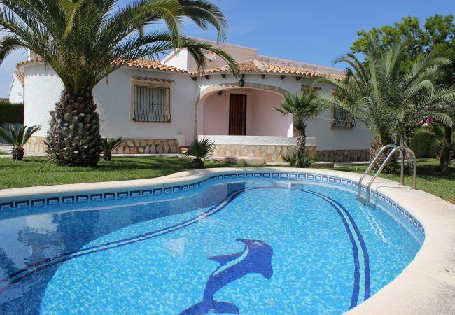 Villa en Denia - 039 VILLA OLIVAR- 3 Dormitorios