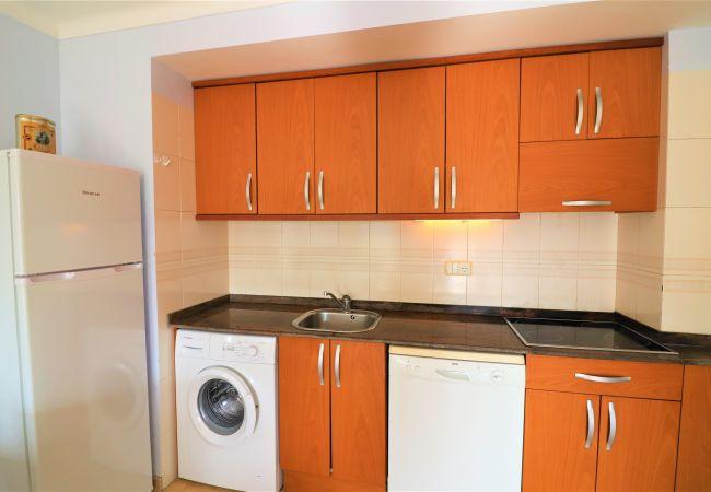 Apartamento en Rosas / Roses - Apartamento de 1 dormitorios a350 mde la playa