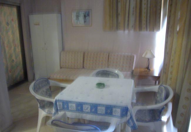 Apartamento en Benidorm - Apartamento con piscina a450 mde la playa