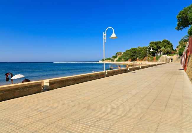Apartamento en Denia - Apartamento con piscina a30 mde la playa