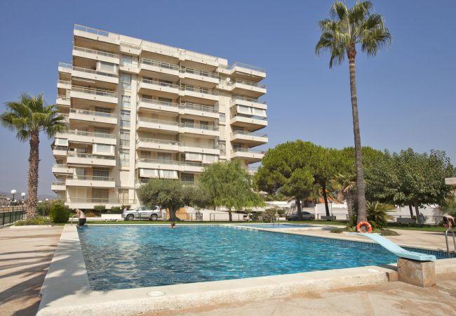 Apartamento en Peñiscola - Apartamento de 2 dormitorios a200 mde la playa