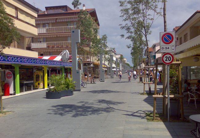 Chalet en Bibione - Chalet con aireacondicionado a400 mde la playa