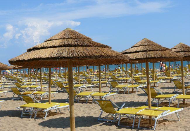 Chalet en Bibione - Chalet con aire acondicionado a400 mde la playa