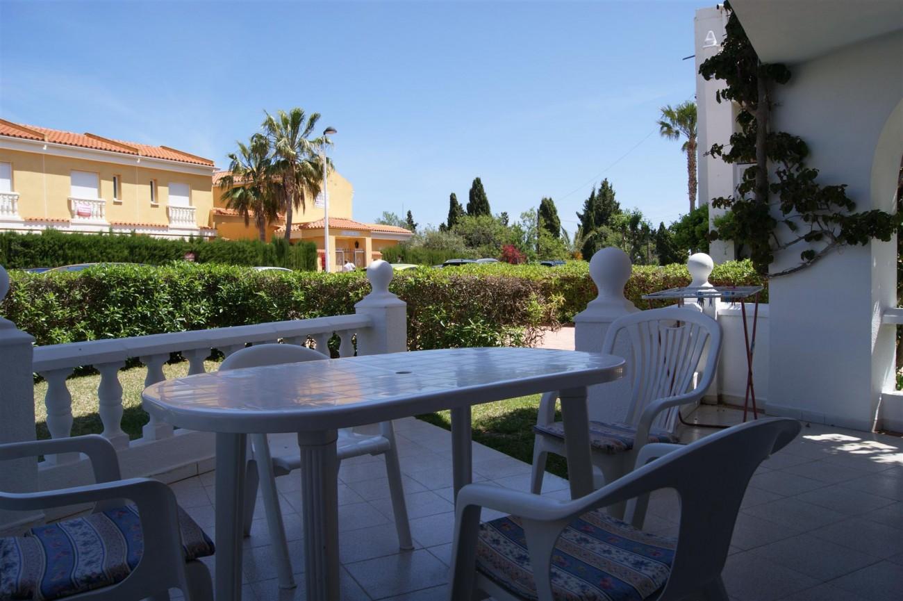 Apartamentos en alcoceber alcossebre playa romana for Playa ciudad jardin