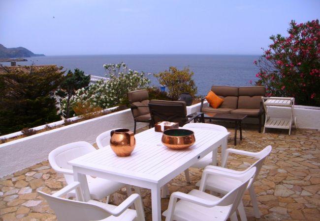 Villa en Llança - Villa con aireacondicionado a300 mde la playa