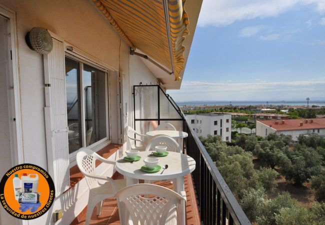 Apartamento en Rosas / Roses - Apartamento para 6 personas a2 kmde la playa
