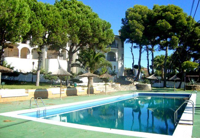 Apartamento en Peñiscola - Apartamento de 2 dormitorios a2 kmde la playa