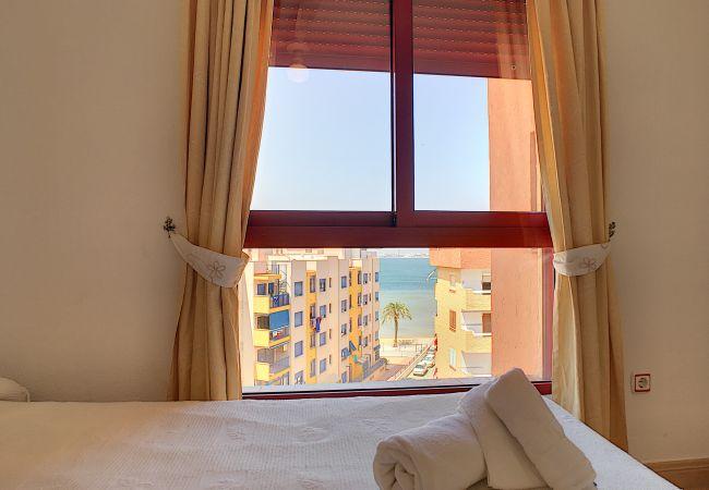 Apartamento en Playa Honda - Apartamento con piscina a100 mde la playa