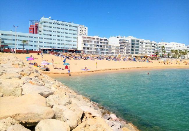 Apartamento en Quarteira - Apartamento para 4 personas a80 mde la playa