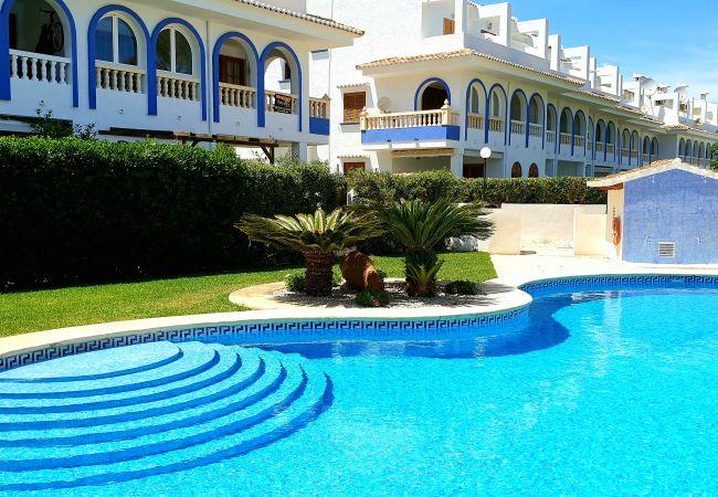Apartamento en Denia - Ap. Duplex con piscina WIFI y a 70m del Mar