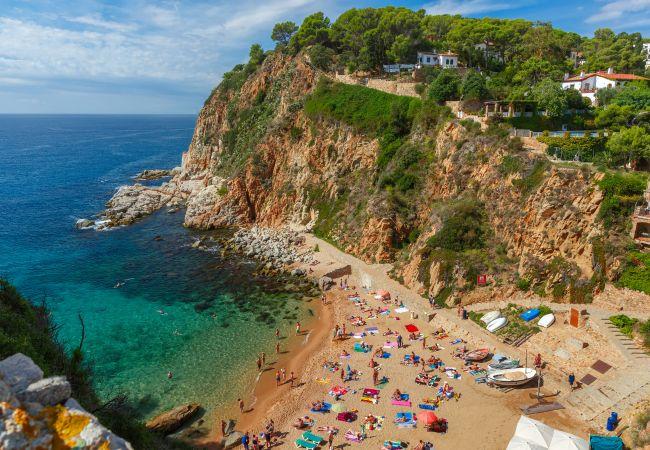 Casa en Tossa de Mar - Casa con aparcamiento a100 mde la playa