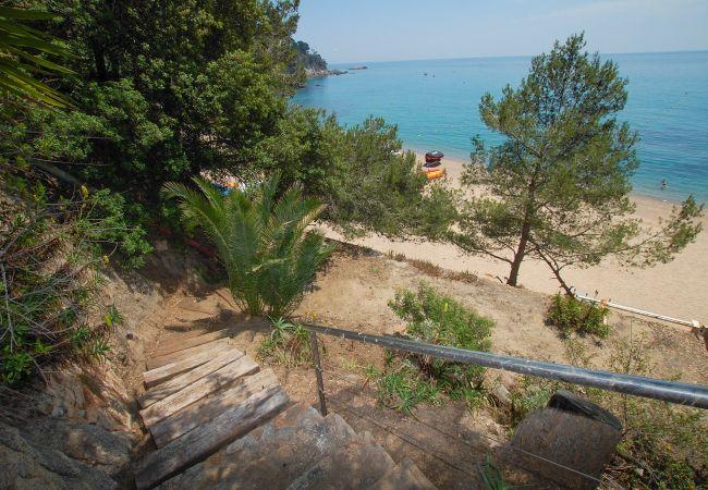 Villa en Tossa de Mar - Villa con piscina a30 mde la playa
