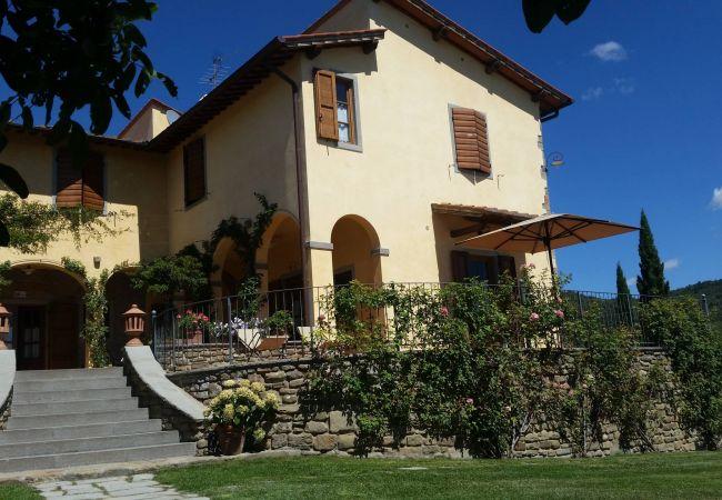 Apartamento en Loro Ciuffenna - Apartamento para 6 personas en Loro Ciuffenna