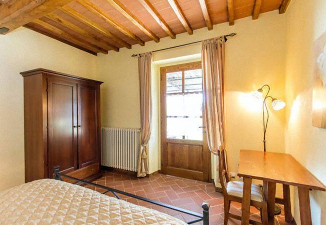 Apartamento en Loro Ciuffenna - Apartamento para 4 personas en Loro Ciuffenna
