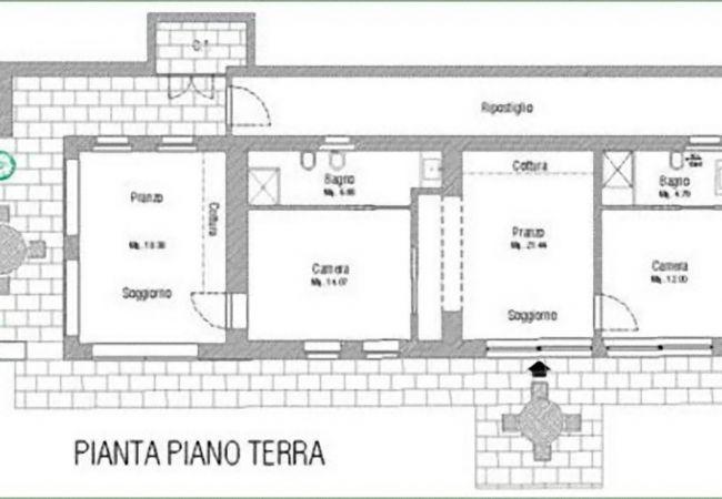 Apartamento en Monte San Savino - Apartamento para 2 personas en Monte San Savino