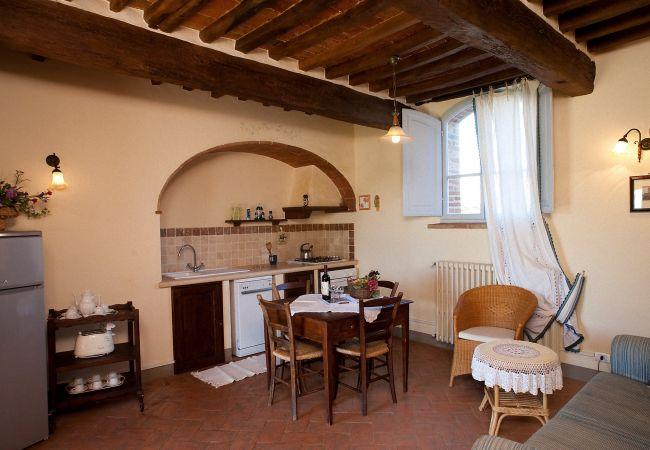 Apartamento en Montepulciano - Apartamento para 4 personas en Montepulciano