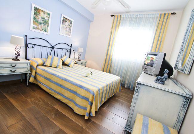 Alquiler piso moderno en la playa La Pineda. Habitación PINEDA3