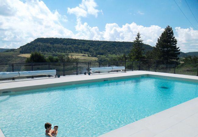 Casa en Barre-des-Cévennes - Casa con piscina en Barre-des-Cévennes