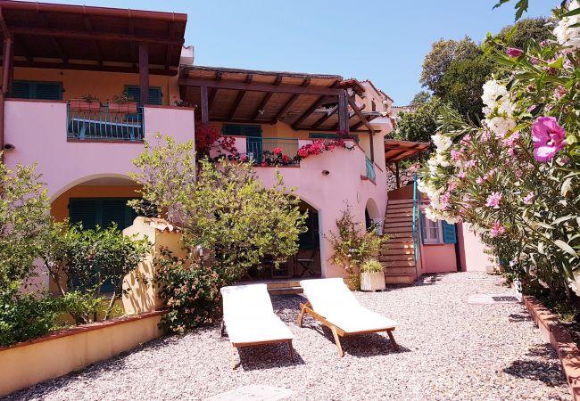 Apartamento en Sas Linnas Siccas - Apartamento para 4 personas a150 mde la playa