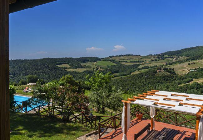 Apartamento en Castellina in Chianti - Apartamento para 6 personas en Castellina in Chianti