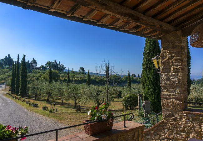 Apartamento en Castellina in Chianti - Apartamento para 5 personas en Castellina in Chianti