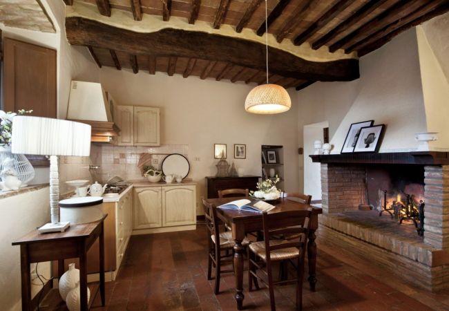 Apartamento en Castellina in Chianti - Apartamento de 1 dormitorios en Castellina in Chianti