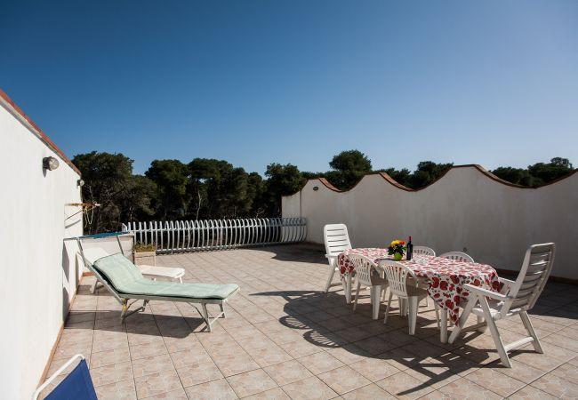 Apartamento en Torre dell´Orso - Apartamento con aireacondicionado a50 mde la playa