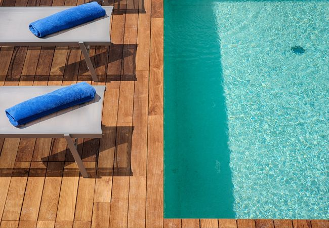 Apartamento en Panzano - Apartamento con piscina en Panzano