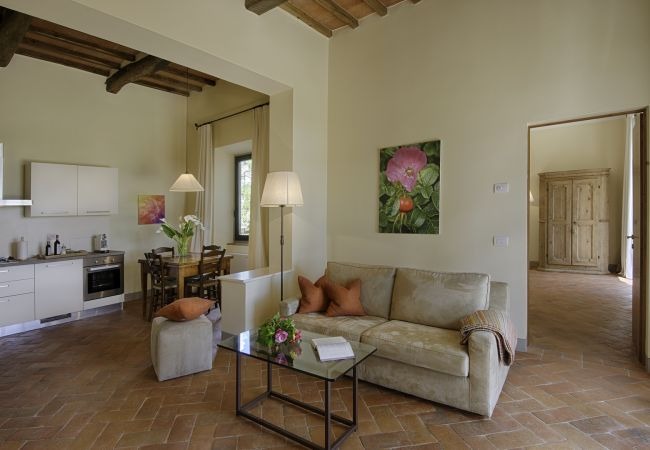 Apartamento en Panzano - Apartamento para 5 personas en Panzano