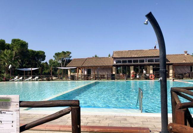Apartamento en Cecina - Casa vacanze a Cecina Mare con piscina Fattoria Palazzeta