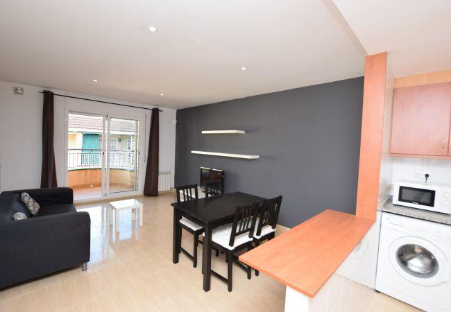 Apartamento en Pineda de Mar - Apartamento de 1 dormitorios a550 mde la playa