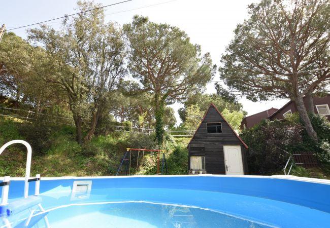 Casa en Sant Pol de Mar - Casa con piscina en Sant Pol de Mar