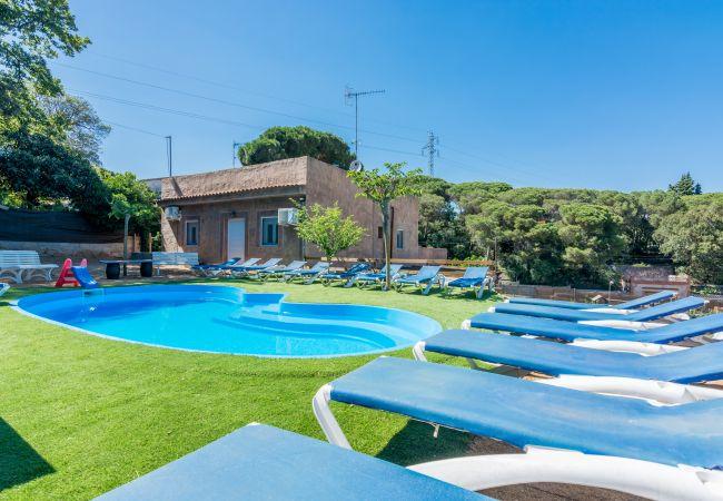 Casa en Sant Genis de Palafolls - Casa con piscina en Sant Genis de Palafolls