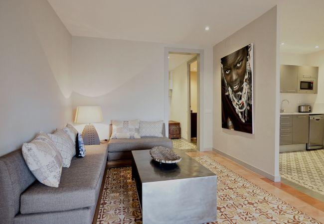 Apartamento en Barcelona - Apartamento con aireacondicionado en Barcelona