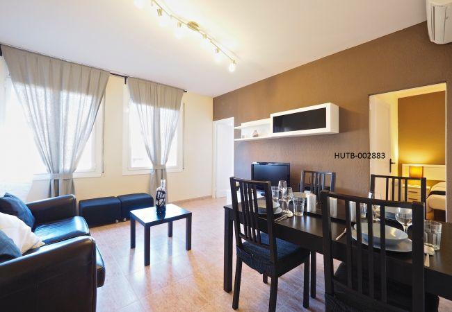 Apartamento en Barcelone - Apartamento con aire acondicionado en Barcelone