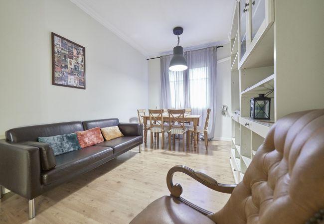 Apartamento en Barcelona - Apartamento con aireacondicionado a2 kmde la playa