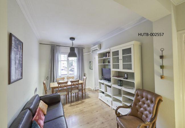 Apartamento en Barcelone - Apartamento con aire acondicionado a2 kmde la playa