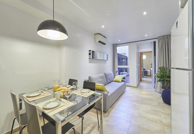 Apartamento en Barcelona - Apartamento con aire acondicionado en Barcelone