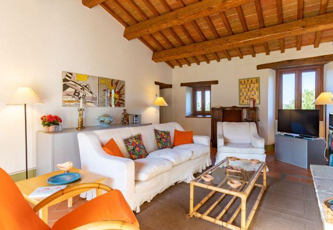 Villa en Marradi - Villa con piscina en Marradi