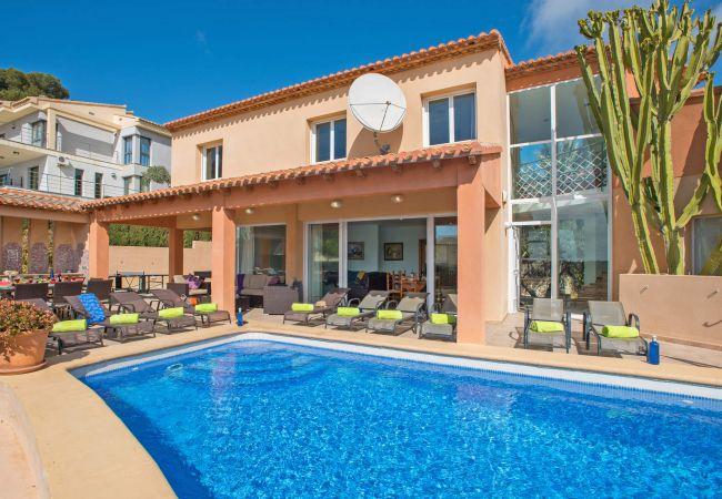Villa in Moraira - 3380 Portichol Mar Flores