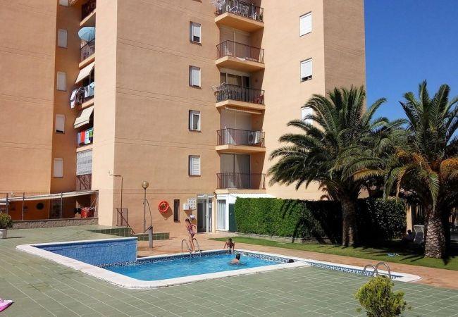 Appartement in Rosas / Roses - Appartement for 4 people op800 mvan het strand