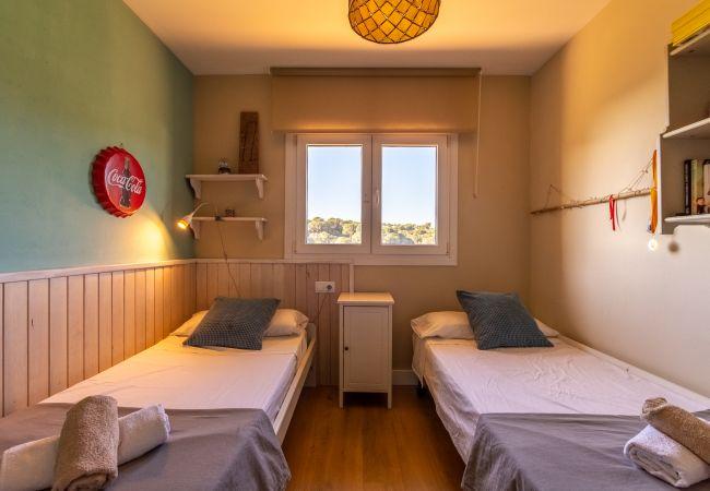 Villa in Calella - Villa of 5 bedrooms op1 kmvan het strand