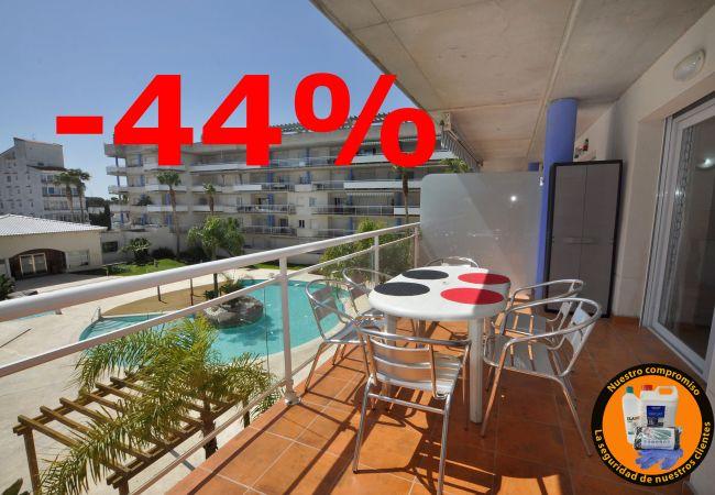 Appartement à Rosas / Roses - Appartement pour 6 personnes à1 kmde la plage