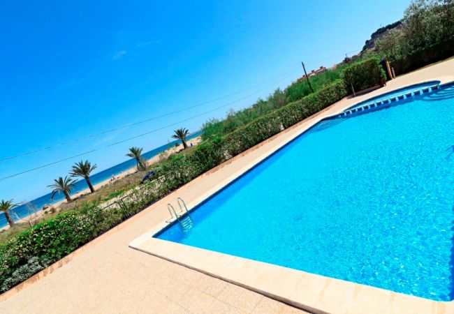 Apartment in Denia - Apartment with swimming pool to 10 m beach