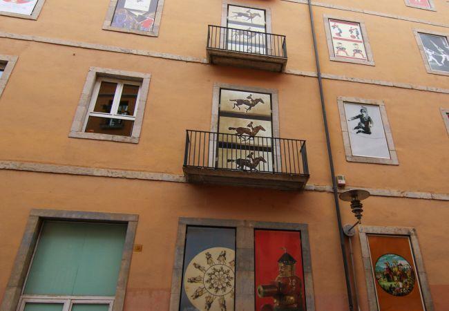 Apartment in Gerona/Girona - Girona apartamento en el centro 1º planta